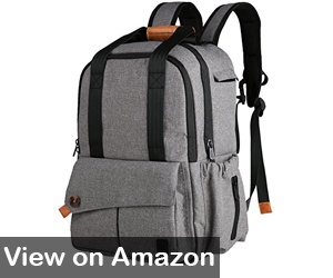 f0e2156c0f The Ferlin Multi-functional Large Baby Diaper Bag Backpack is stylish and  water-resistant – a great bag for mom or dad.
