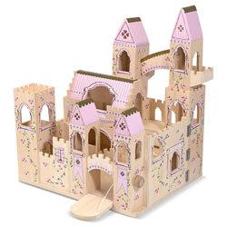 Melissa and Doug Folding Castle Wooden Dollhouse