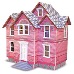Melissa and Doug Wooden Dollhouse