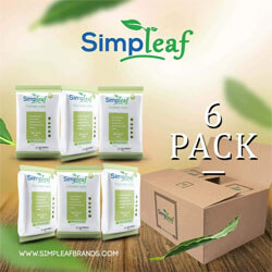Simpleaf Flus Friendly Wipes