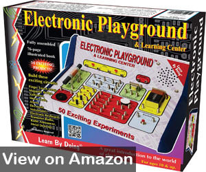 Educational Toys Can Provide Hours Of Fun The Elenco Electronic Playground Is One Best Gifts For 11 Year Olds