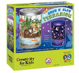 Creativity for Kids Grow N' Glow Terrarium Science Kits