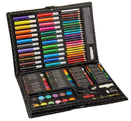 Darice Deluxe Art Set, Art Supplies for Drawing