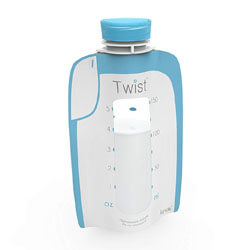 Kiinde Twist Pouch Breast Milk Storage Bags for Pumping