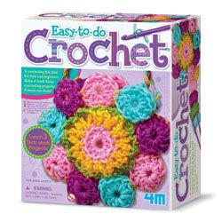 4M Crochet Making Kit, Best Toys for 5 Year Old Girls