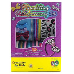 Creativity For Kids Fashion Sparkling Hair Accessory Set