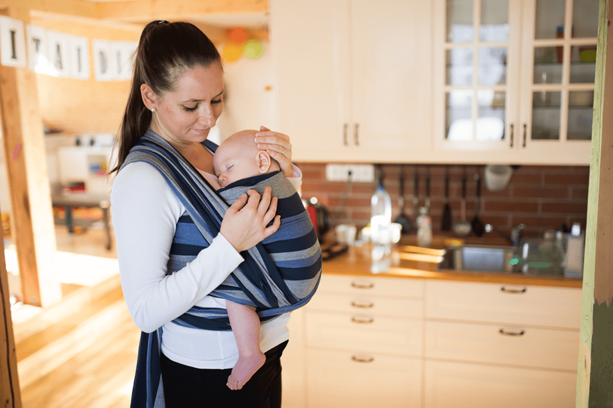 How To Make A Baby Sling At Home