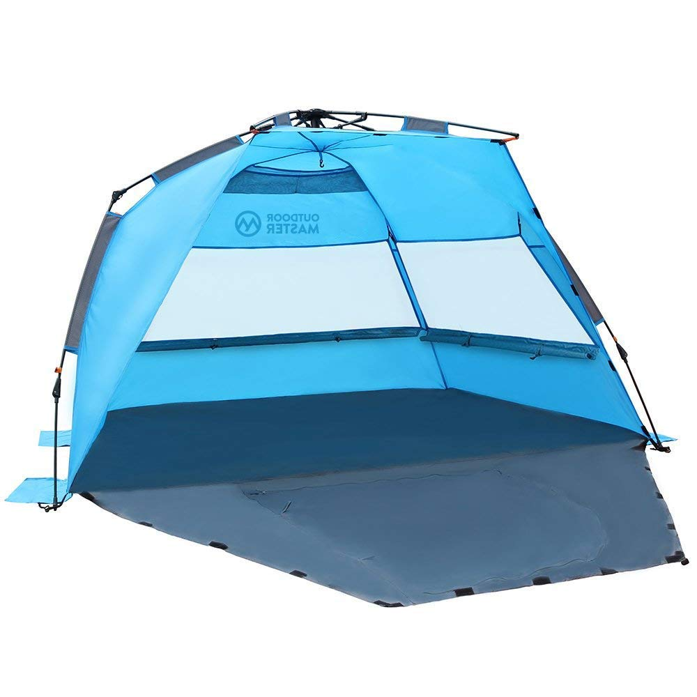 OutdoorMaster Pop Up Beach Tent