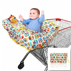 Croc n frog Shopping Cart Covers for Baby