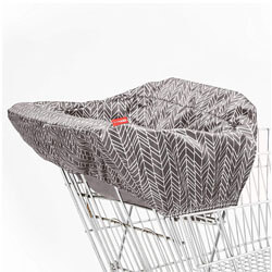 Skip Hop Shopping Cart and Baby High Chair Cover