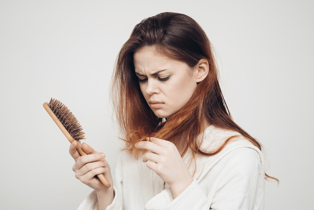 how to stop hair loss during pregnancyv