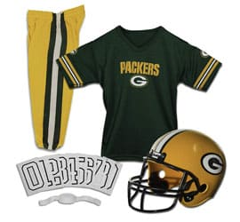 NFL Kids Football Helmet and Jersey Set, Gifts for 12 Year Old Boys