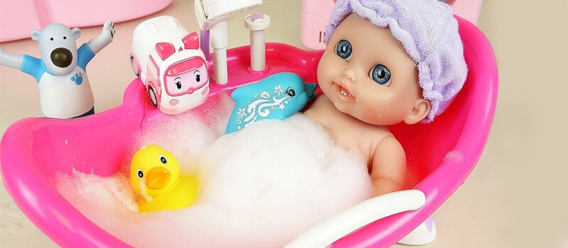 clean baby toys without washing