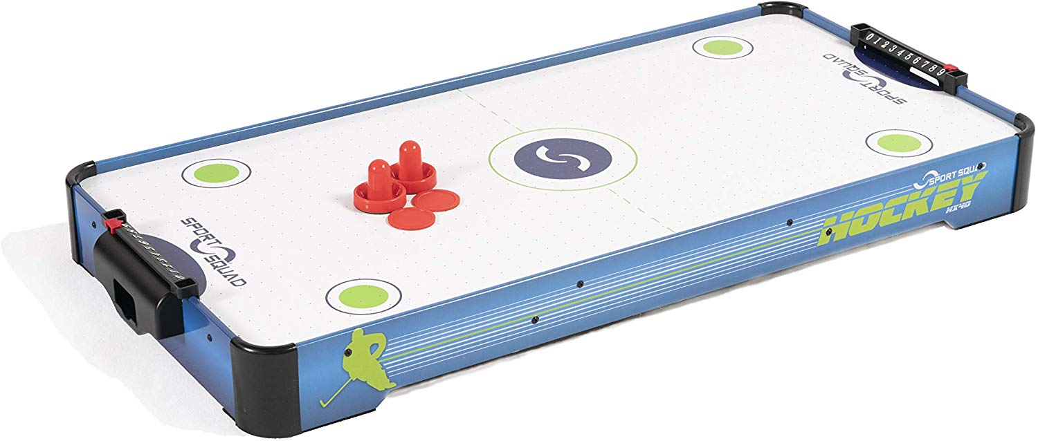 Sport Squad Table Top Air Hockey Table for Kids