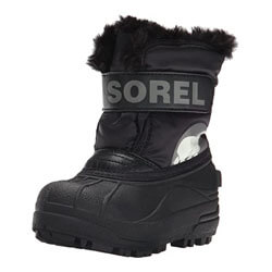 Sorel Commander B Coal Cold Weather Boot , Black/Charcoal,7 M US Toddler