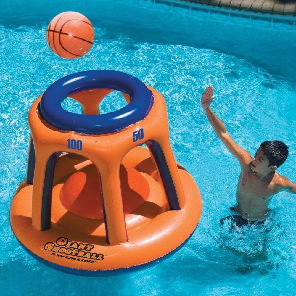 Swimline Basketball Swimming Pool Game Toy