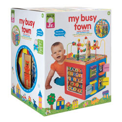 TOP BRIGHT Wooden Activity Cube, best Activity Cubes