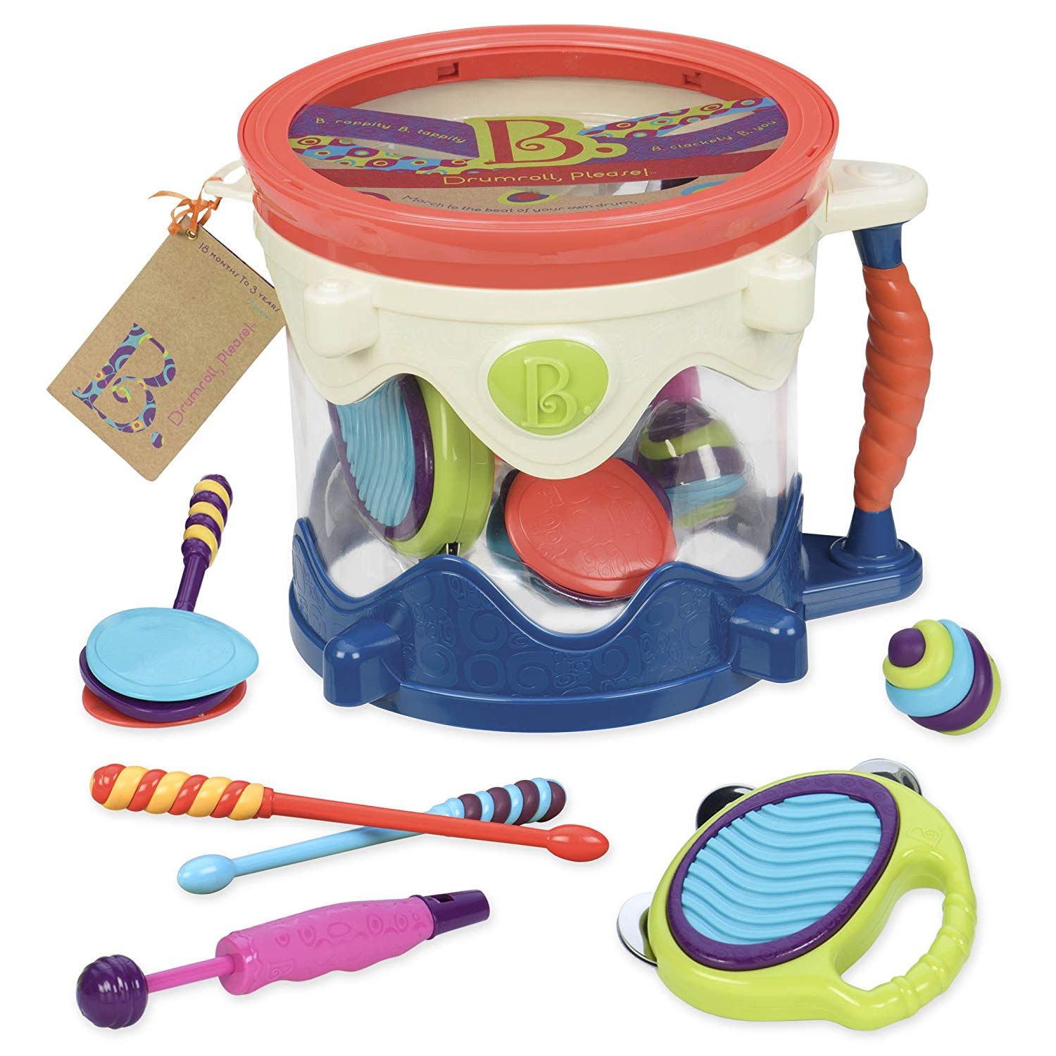 B. Toy Drum Kit for Kids