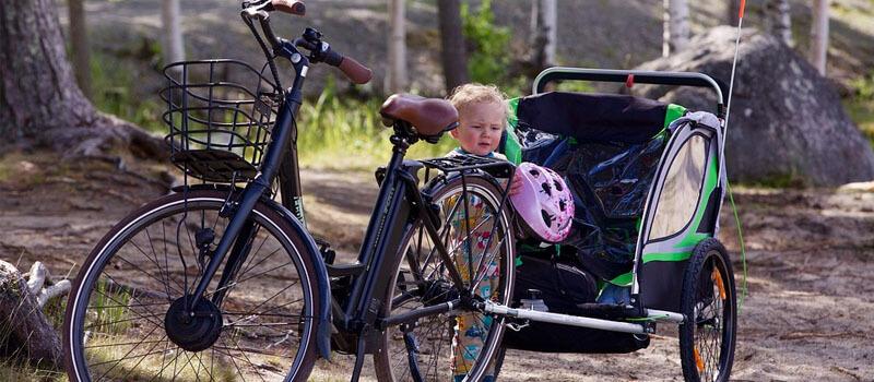 Are Bike Trailers Safe? | Temper and Tantrum