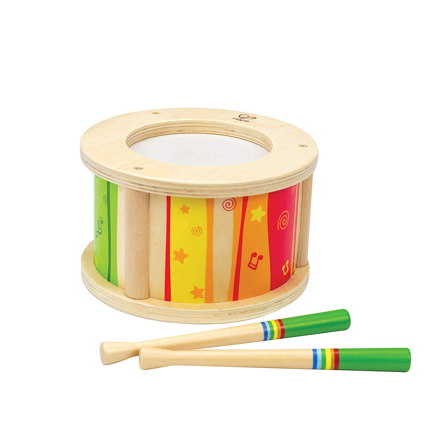 Hape Kid's Wooden Drum Set