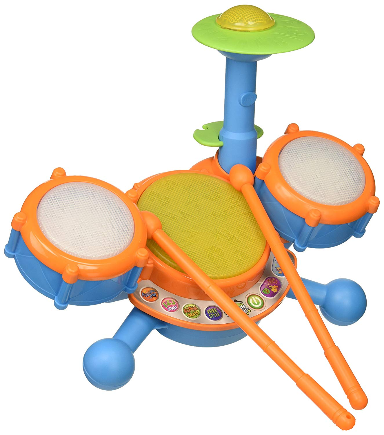 VTech KidiBeats Drum Set, Best Drum Sets