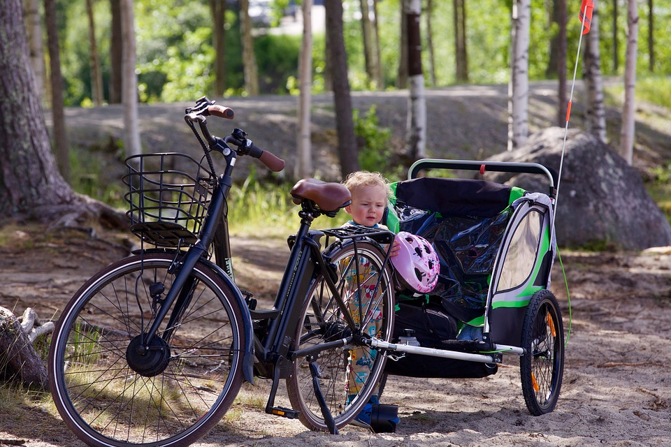 Are Bike Trailers Safe? | Temper and Tantrum