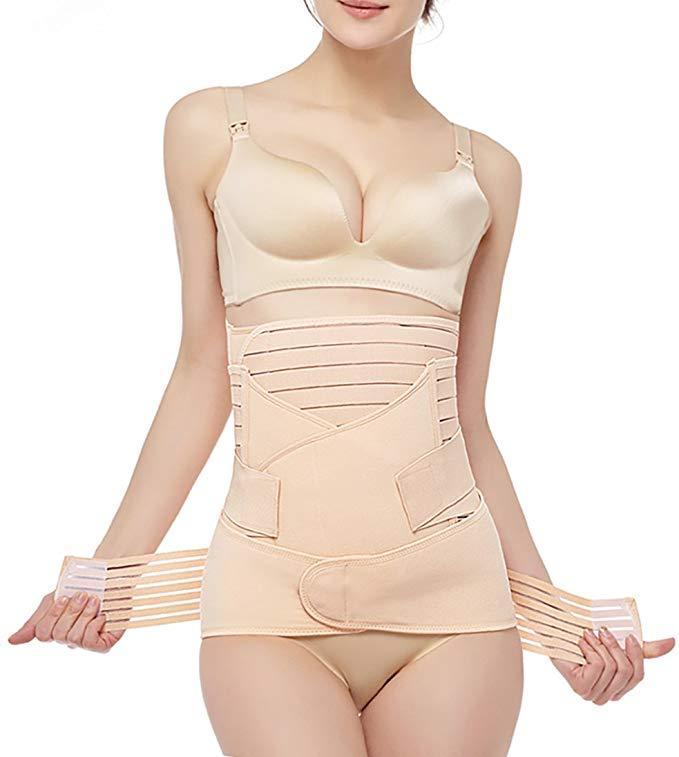 Belly Wrap Girdle Support Band Belt Body Shaper