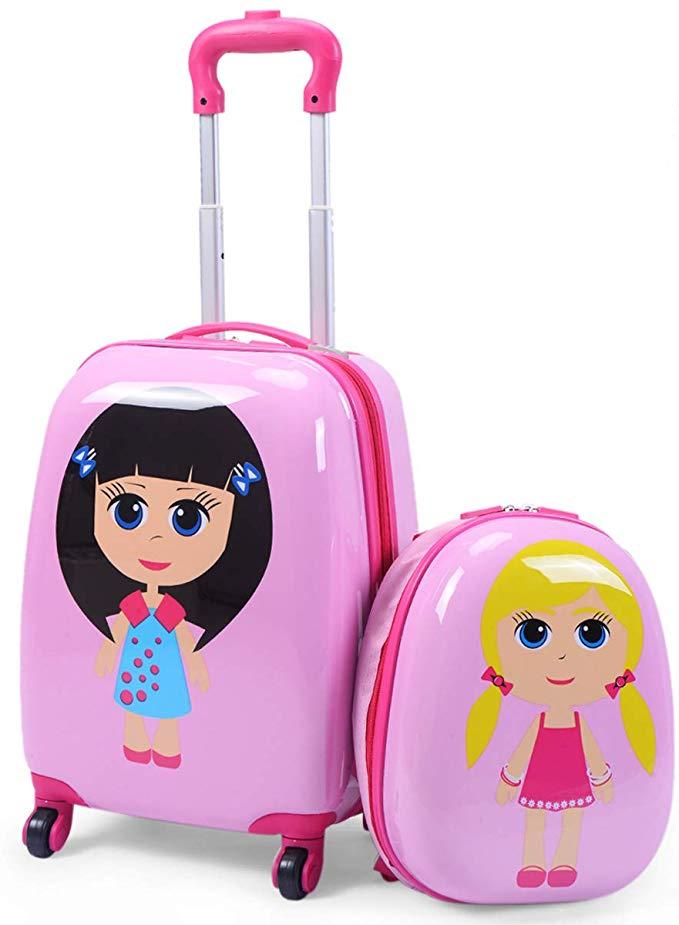 Goplus Kid Suitcase Set
