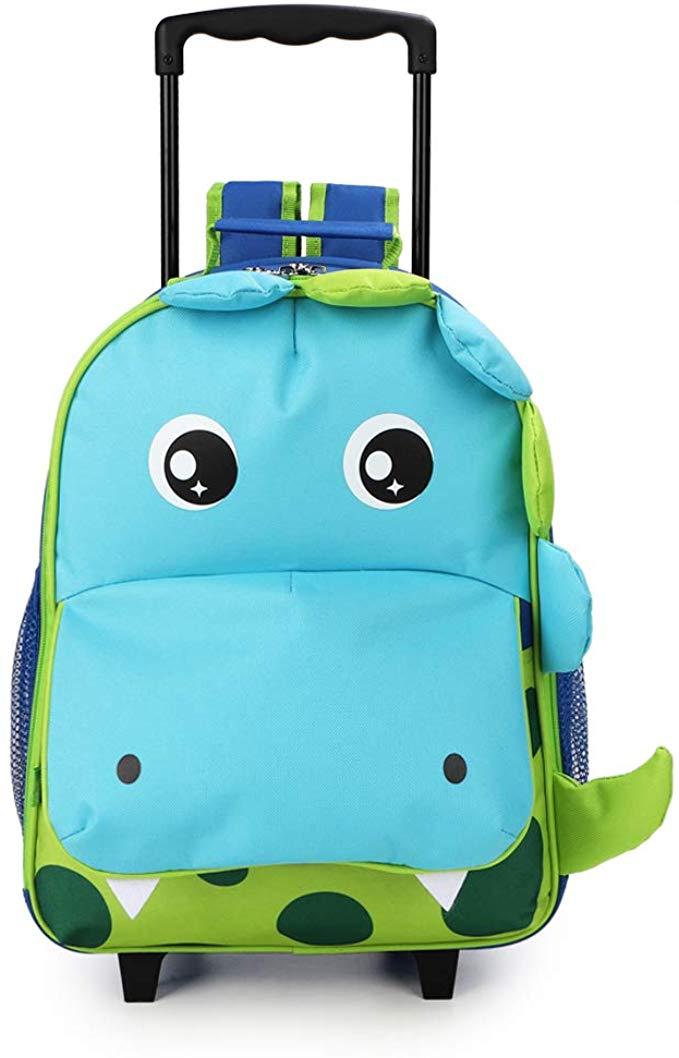 Yodo Zoo Kids Rolling Luggage
