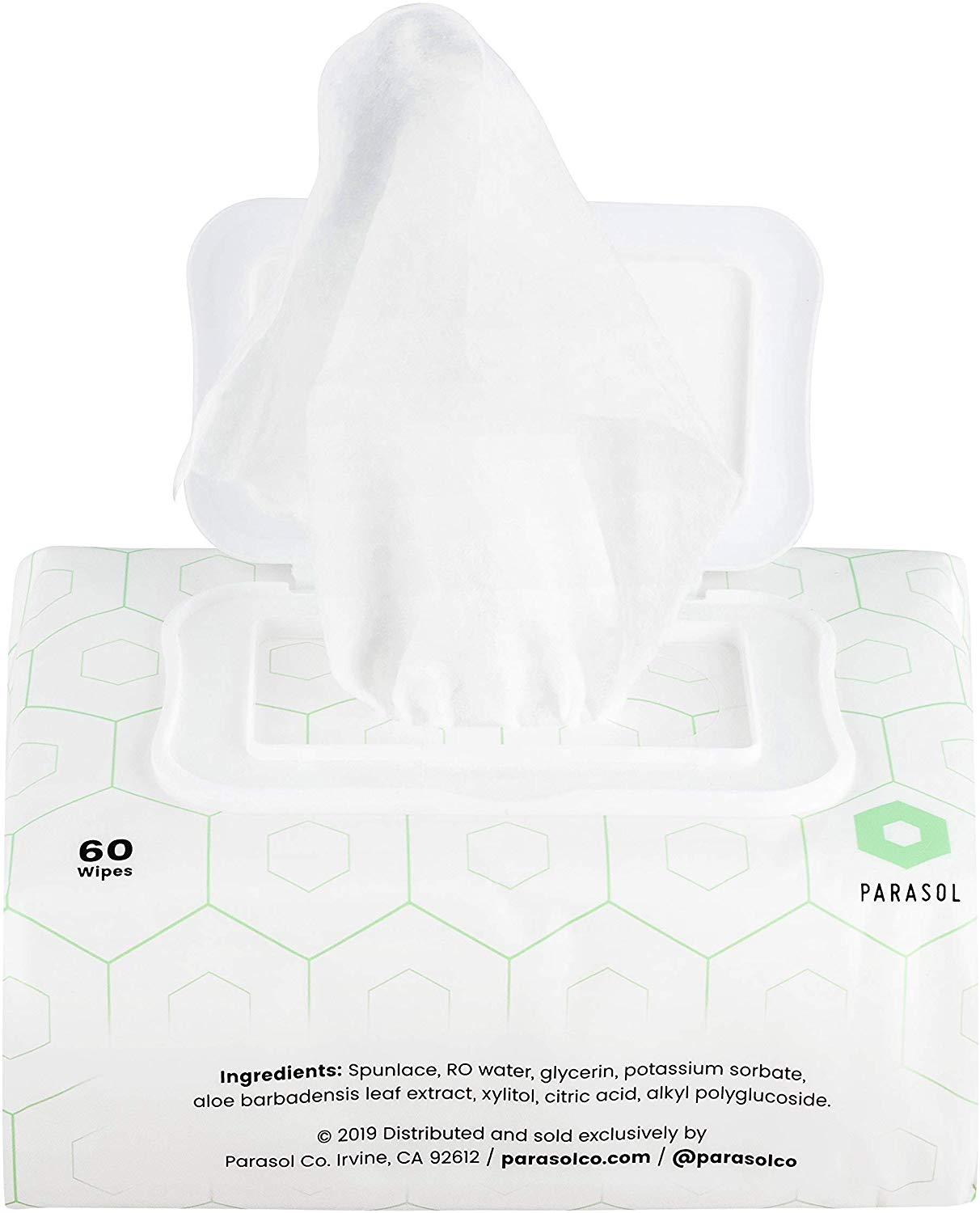 Parasol Clear+Pure Baby Wipes