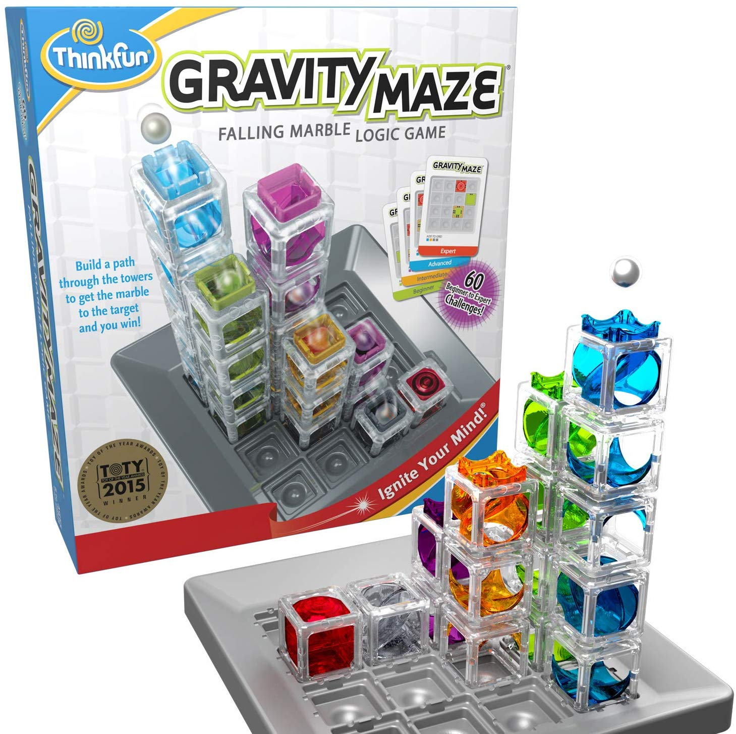 Gravity Maze Marble Run Logic Game