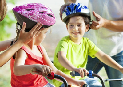A Bike Helmet Perfect For Your Kids