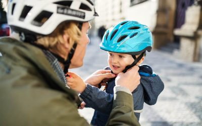 How To Perfectly Fit A Child's Bike Helmet – Temper and Tantrum