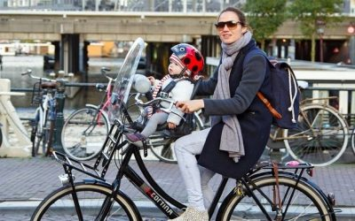 How To Attach A Child Bike Seat – in Different Place of Bike