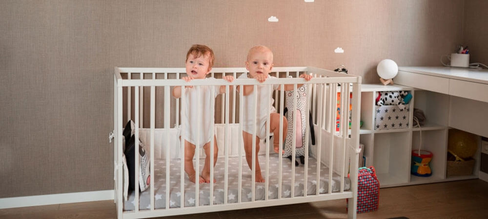 How to Use Cribs for Twins