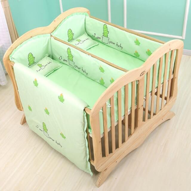11 Best Cribs for Twins (Top Rated Baby Cribs of 2019)