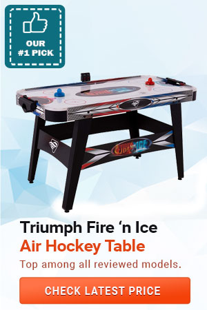 Triumph Fire 'n Ice Air Hockey Table, Best Air Hockey Table for Kids