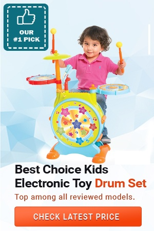Best Choice Products Kids Electronic Toy Drum Set, Best Drum Sets