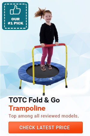 Fold & Go Trampoline, Best Toddler Trampolines