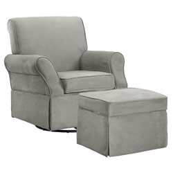 Baby Relax The Kelcie Nursery Swivel Glider Chair