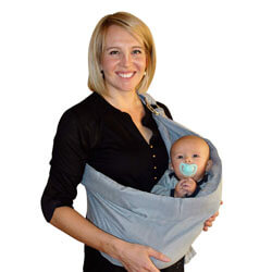 Newborn, Infant and Toddler. Carriers Ideal for Baby Registry, Breastfeeding and Nursing
