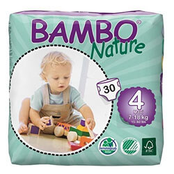 Bambo Nature Eco Friendly Baby Diapers