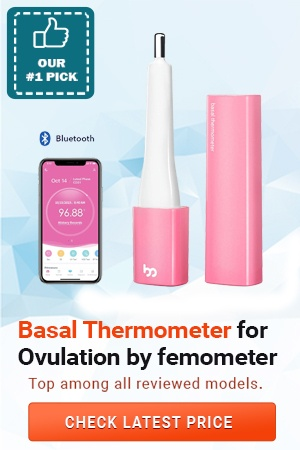 Basal Thermometer for Ovulation
