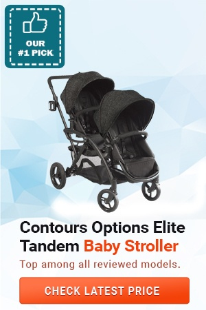 Contours Options Elite Tandem Baby Stroller, Best Convertible Strollers