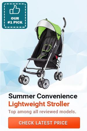 Summer 3Dlite Convenience Stroller, Lightweight Strollers