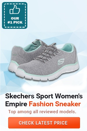 Skechers Sport Women's Empire Fashion Sneaker, Best Shoes for Pregnancy