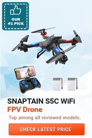 SNAPTAIN S5C WiFi FPV Drone, Best Spy Gear for Kids