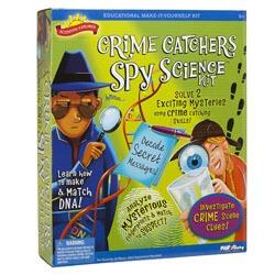 Crime Catchers Spy Science Kit Kids
