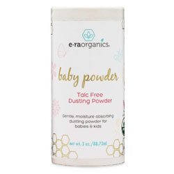 Baby Powder Talc Free - USDA Certified Organic Dusting Powder for Excess Moisture