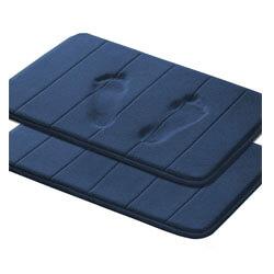 Flamingo P Microfiber Memory Foam Bath Mat